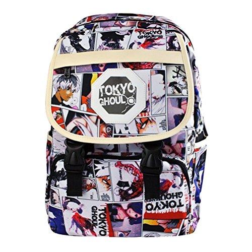 YOYOSHome Tokyo Ghoul Anime Kaneki Ken Cosplay Bookbag Backpack School Bag]()