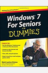 Windows 7 for Seniors For Dummies by Mark Justice Hinton (11-Sep-2009) Paperback Paperback
