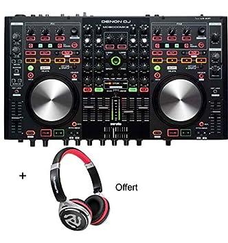 Denon Dj MC6000MK2 - Controlador DJ de 4 canales con tarjeta ...