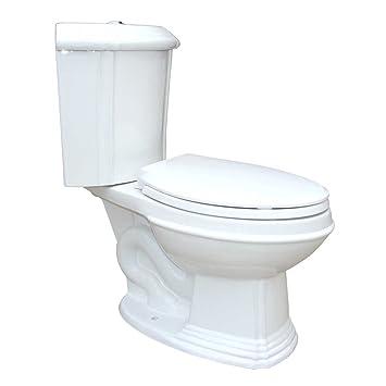 White Porcelain Elongated Space Saving Corner Toilet   Renovator s Supply. White Porcelain Elongated Space Saving Corner Toilet   Renovator s