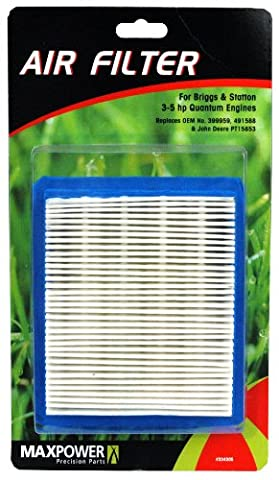 Maxpower 334305 Air Filter For Briggs & Stratton 3.5 - 5 HP Quantum Engines - 3.5 Hp Engine