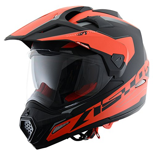 Astone Helmets Tourer Adventure, color Gris, talla L: Amazon.es: Coche y moto