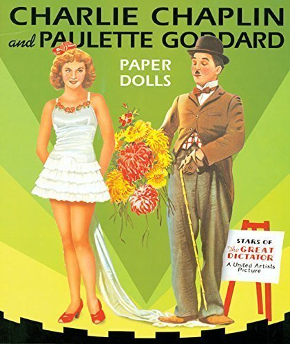 Charlie Chaplin Outfit (Charlie Chapman and Paulette Goddard Paper Dolls)