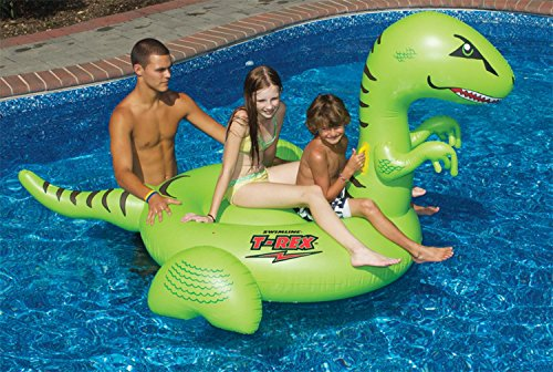 Swimline 90624 T-Rex Giant Ride On