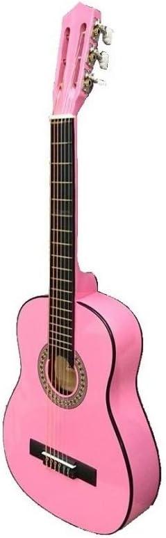 Guitarra rocio c16 (3/4) 90 cms rosa: Amazon.es: Instrumentos ...