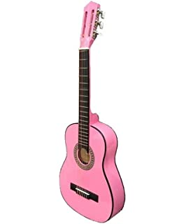 Bontempi - Wooden Pink Guitar 75 Cm. GSW 7571: Amazon.es: Juguetes ...
