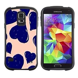 Suave TPU GEL Carcasa Funda Silicona Blando Estuche Caso de protección (para) Samsung Galaxy S5 / CECELL Phone case / / daisy vignette art spring nature green /