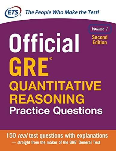 Pdf Test Preparation Official GRE Quantitative Reasoning Practice Questions, Second Edition, Volume 1