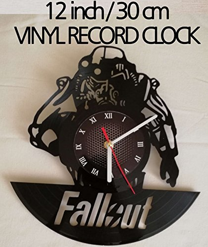 Amazon.com: FALLOUT GAME Handmade Vinyl Record Wall Clock