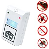 MYEDO Plus Pest Repeller Ultrasonic Repellent Electronic Deratization Plug Pest Control Against Mouse, Rat and Insects with Built in Night Light
