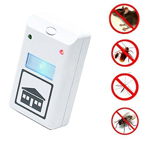 YEDO Riddex Plus Pest Repeller Ultrasonic Repellent Electronic Deratization Plug Pest Control Against Mouse, Rat and Insects with Built in Night Light