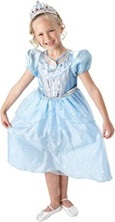 Disney 884111L - Disfraz de cenicienta para niñas (talla L ...