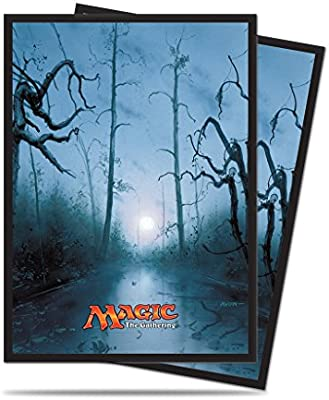 Ultra Pro Mana 5 Swamp Standard Deck Protector Sleeves for Magic 80ct, Color sumpf (E-86456