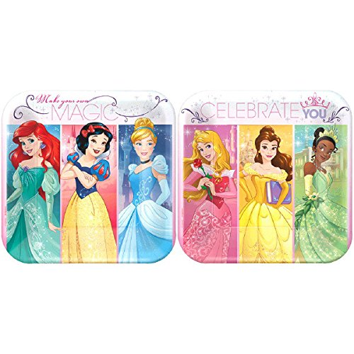 Ultimate Disney Princess Party!!!Birthday Party Decoration Supplies Bundle Pack with 16lg&16sm Plates 16-9oz Cups, Matching Table Cover&Jumbo Banner,50 Napkins(Bonus Matching Party Straw Pack) by Everyday Party Bundles (Image #2)