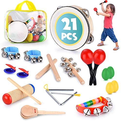 picture of Toddler Educational & Musical Percussion for Kids & Children Instruments Set 21