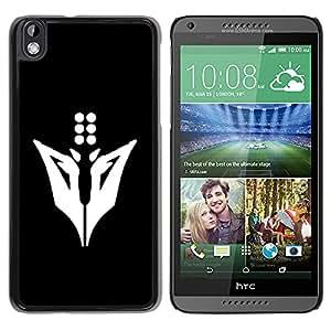 EJOY---Cubierta de la caja de protección la piel dura para el / HTC DESIRE 816 / --Minimalista Animal