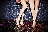 JPACO Sparkle Metallic Confetti (300 Grams) - Jumbo Rainbow Foil Confetti Bag Perfect for New Years, Surprise Parties, Birthdays, Photo Shoots, Engagements & Weddings