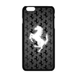 New Style Custom Picture Ferrari sign fashion cell phone case for iPhone 6 plus 6