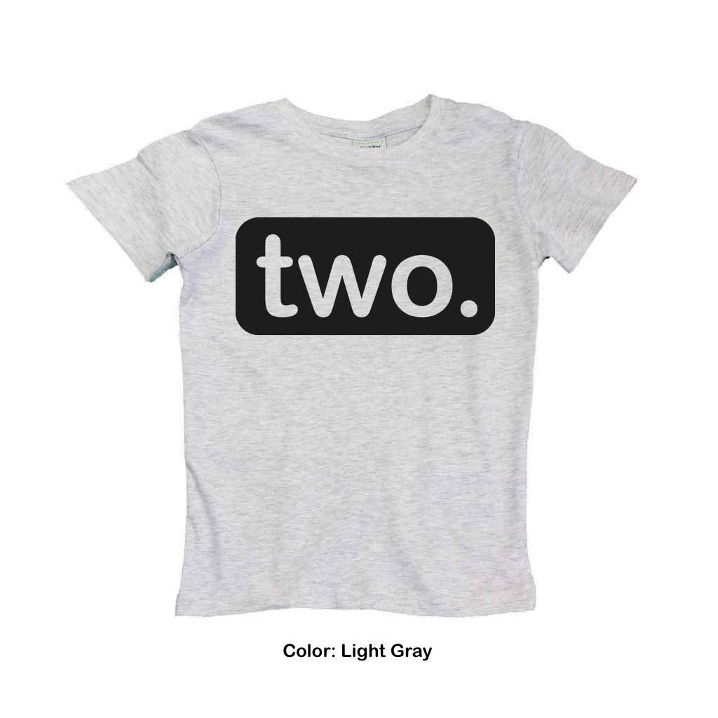 The Two Text Size Is Adjusted According To Shirt FREE And Super Fast Shipping On This Boys Second Birthday