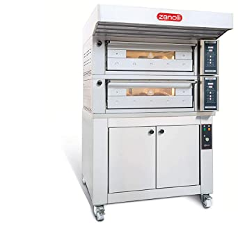 Zanolli Polis T4MC18 Horno de panadería: Amazon.es: Industria ...