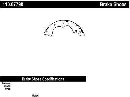 Centric 110.07790 Brake Shoe