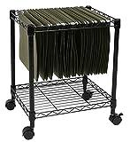 Apollo Hardware 1-Tier File Cart/Mobile File Cart