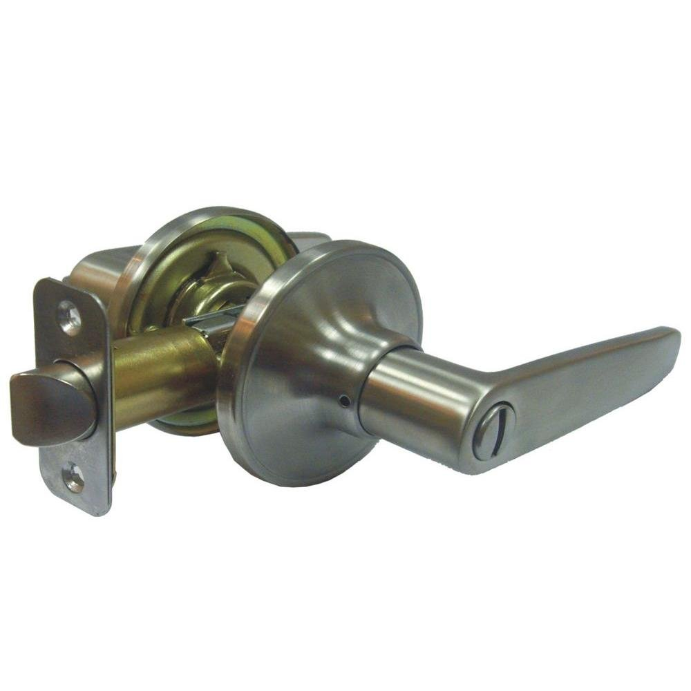 Faultless Olympic Stainless Steel Lever Privacy