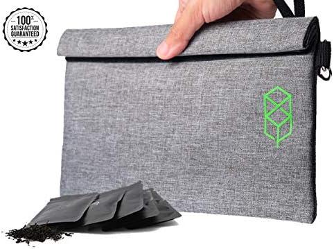 Amazon.com: Bolsa a prueba de olores + 5 bolsas a prueba de ...