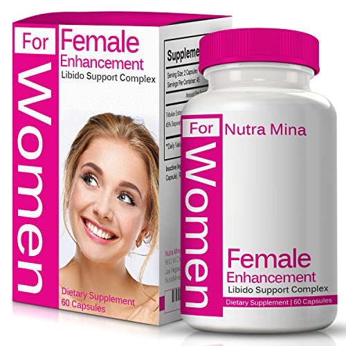 Female Libido Enhancement - Female Enhancement Natural Booster With Epimedium, Tribulus Terrestris and Gingko Biloba To Support Overall Wellness, Desire, Energy & Drive, With Bioperine For Maximum Absorption and Bioavailability