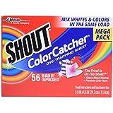 Shout Color Catcher Sheets, 56 Count