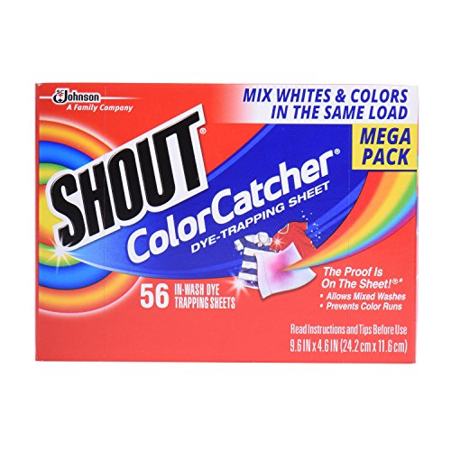 Shout Color Catcher Sheets Count