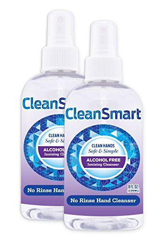 CleanSmart Antimicrobial Skin Cleanser, 8 Ounce Bottle (Pack of 2) Alcohol-Free Safe Cleanser