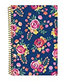 """bloom daily planners 2019 Calendar Year Day Planner - Passion/Goal Organizer - Monthly and Weekly Dated Agenda Book - (January 2019 - December 2019) - 6"""" x 8.25"""" - Vintage Floral"""
