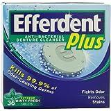 Efferdent Plus Anti-Bacterial Denture Cleanser, Minty Fresh