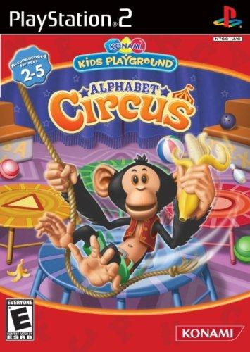 Konami Kids Playground: Alphabet Circus - PlayStation 2
