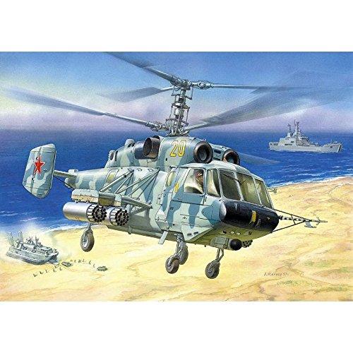 Zvezda Models Kamov KA-29 Helix B Naval Support Helicopter