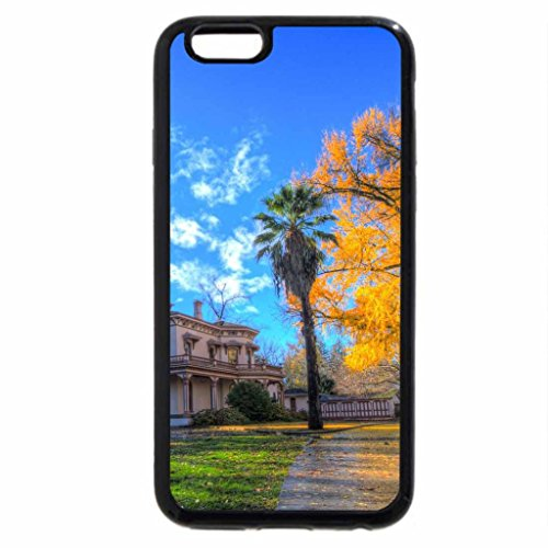 iPhone 6S / iPhone 6 Case (Black) lovely plantation house hdr