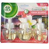Air Wick Scented Oil Air Freshener, National Park Collection, Virgin Islands, Triple Refills, 0.67 Ounce (Pack of 12)