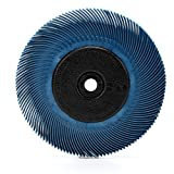 Scotch-Brite(TM) Radial Bristle Brush, Aluminum Oxide, 6000 RPM, 6 Diameter x 7/16 Width, 400 (Pack of 1)