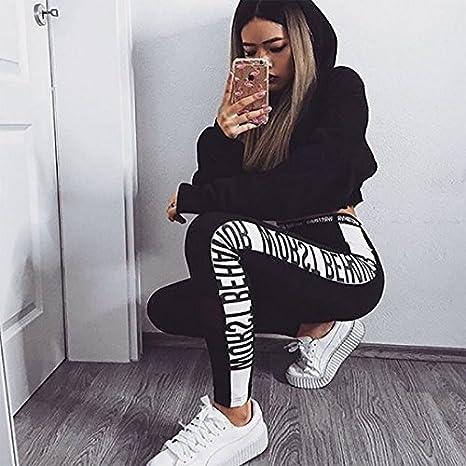 Vin beauty Femmes Lady Daily Courir Gym Sport Jambières d entraînement  Leggings Fitness Maigre Stretchy Pantalons Pantalons  Amazon.fr  Vêtements  et ... 5a258aebf23