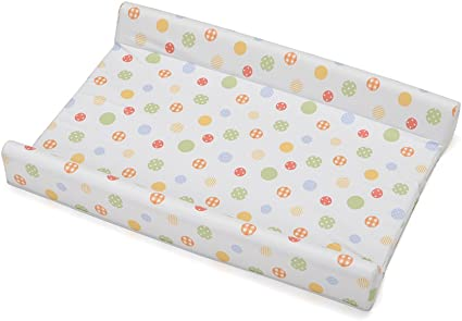 Pearl Silver 204440168CI Rotho Babydesign Wedge Changing Mat 70 x 50 x 9.8 cm For babies from birth upwards Royal Quilted Look