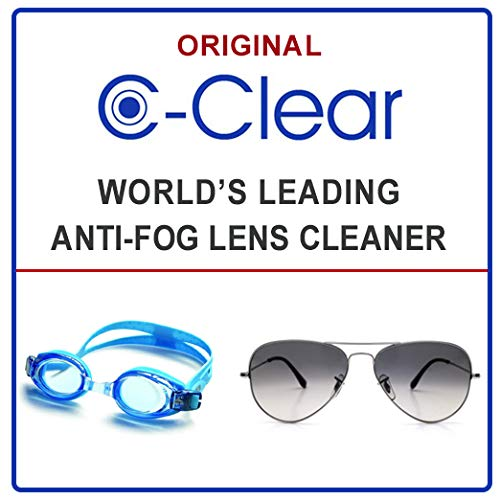C-Clear Anti Fog Lens Cleaner - (3) 1 Oz Spray Bottles by C-Clear (Image #2)