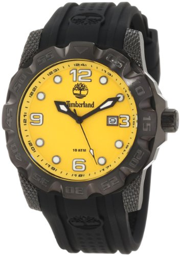 Timberland Men's 13317JSB_21 Belknap 3 Hands Date Rotating Top Ring Watch
