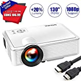Best Mini Projector For I Pads - Mini Projector 2400 Lumens - SOMEK LED Portable Review