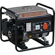 DHT 1200W Gas Powered Generator, Sturdy steel frame cage