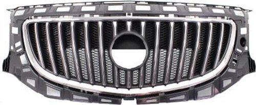 Buick Regal Grille Assembly - Crash Parts Plus Chrome Shell w/Black Insert Grille Assembly for 2011-2013 Buick Regal GM1200653