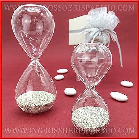 Piccole Bomboniere Per Matrimonio.Ingrosso E Risparmio Clessidra In Vetro Con Piccole Perline