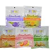 Aura Cacia Foaming Bath Salt Variety Pack (5PK)