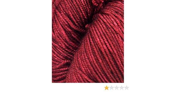 800 Malabrigo Sock Superwash Merino Knitting Yarn Wool 100g Tiziano Red