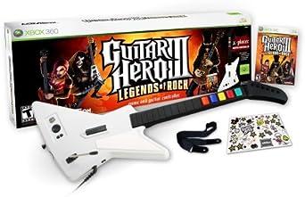 Guitar Hero III Legends of Rock Wired Bundle -Xbox 360 by ...